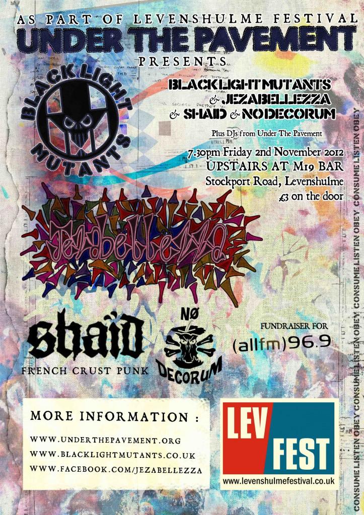 Black Light Mutants Poster
